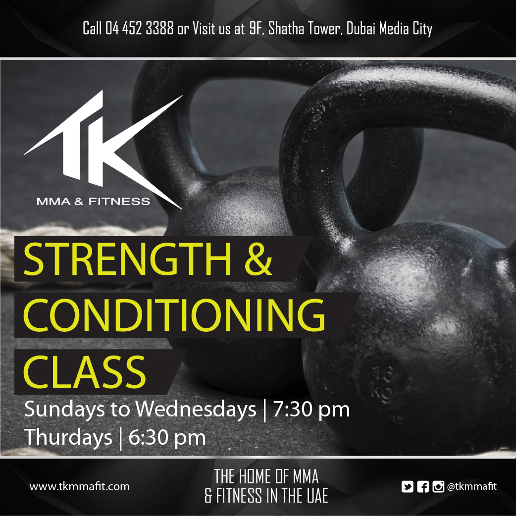 TK MMA Fitness | STRENGTH & CONDITIONING